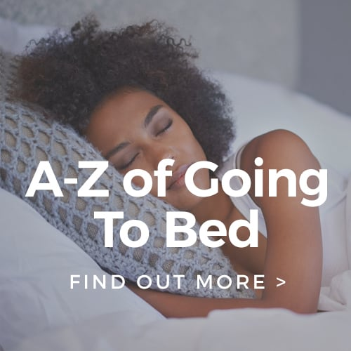 A-Z of Going To Bed